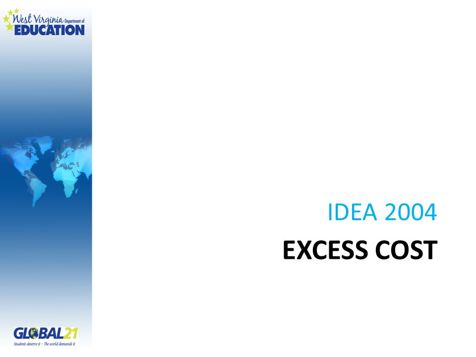 EXCESS COST IDEA 2004