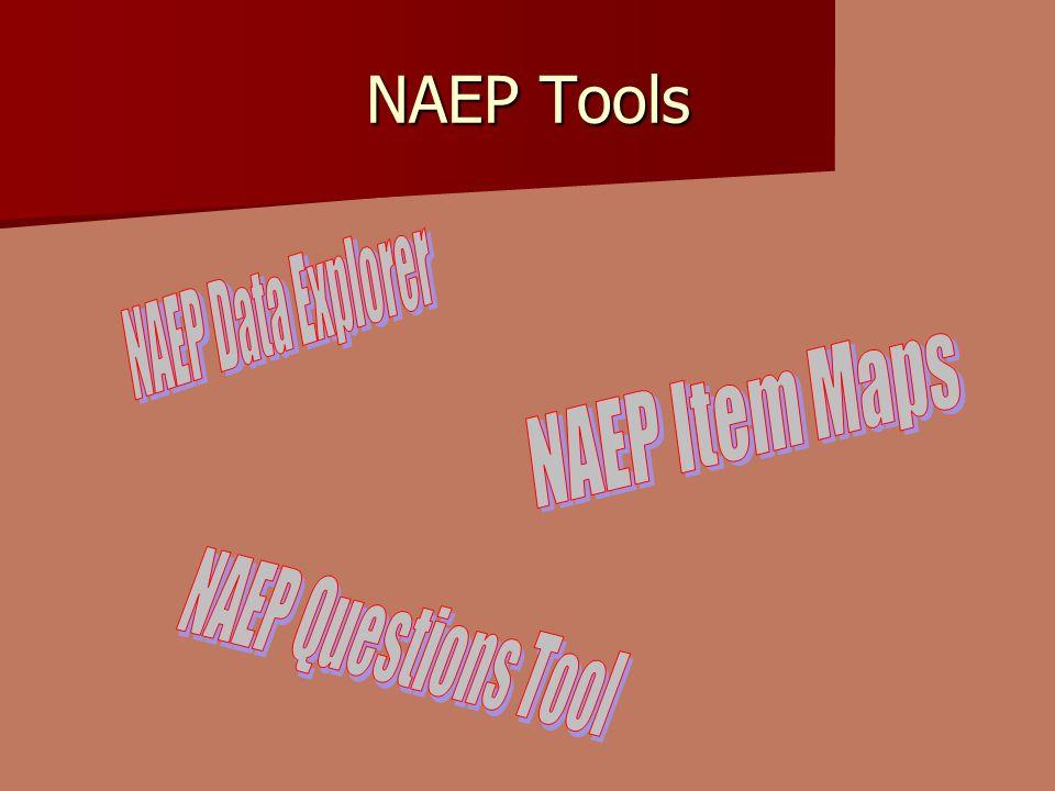 NAEP Tools