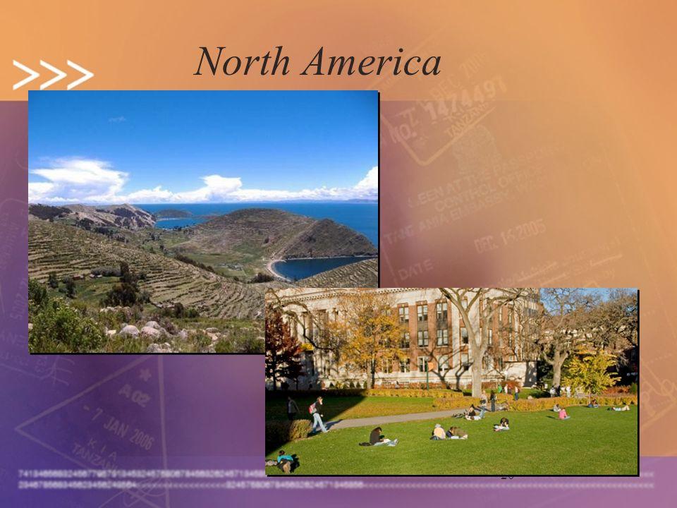 20 North America