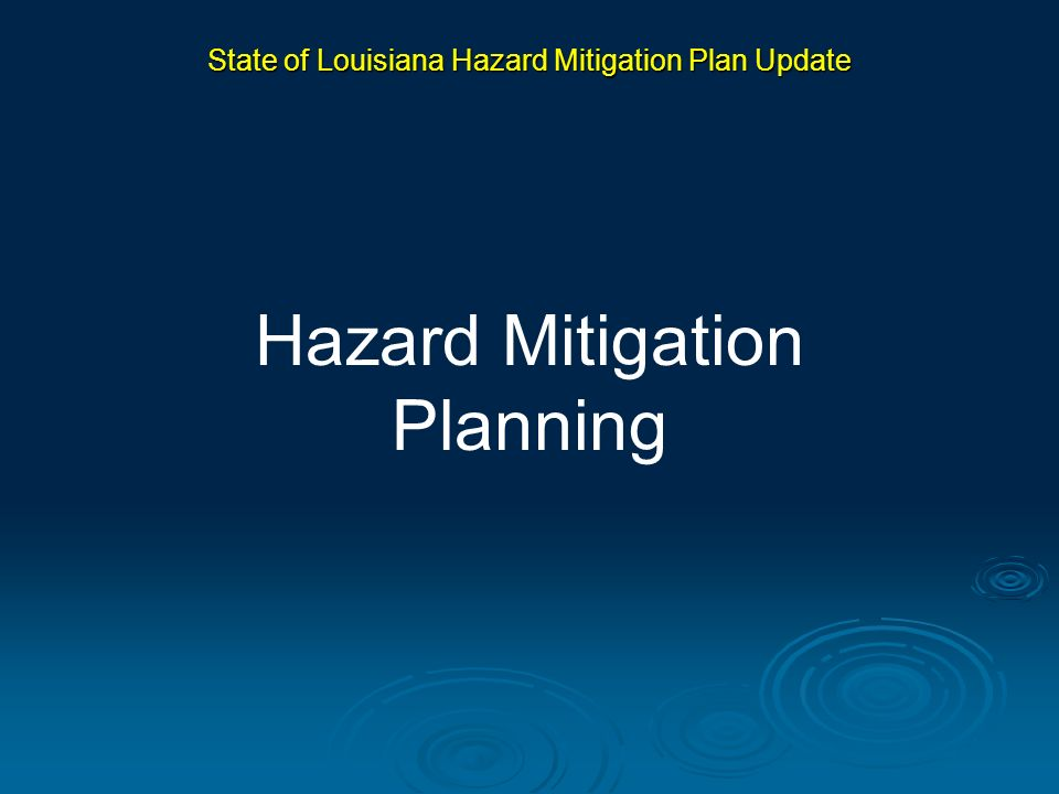 Surveyed the ability of state and local agencies to plan for and implement hazard mitigation projects: State/local strengths and weaknesses State/local strengths and weaknesses Capacity, including staffing, mitigation expertise, technology/GIS, finances Capacity, including staffing, mitigation expertise, technology/GIS, finances This analysis feeds directly into the recommendations in the Action Plan State of Louisiana Hazard Mitigation Plan Update Capability Assessment