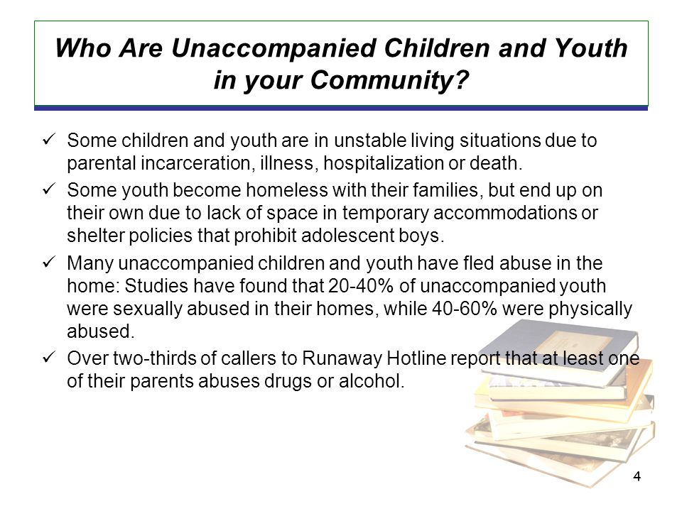 15 Can unaccompanied youth consent for their own health care.