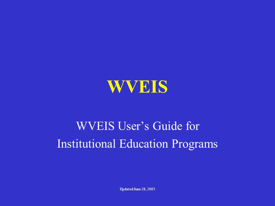 Discipline Codes Due to requirements of the federal No Child Left Behind Act, as well as West Virginia Board of Education Policy 4373, Student Code of Conduct (which is effective beginning July 7, 2002), certain state-defined discipline offense codes were generated.