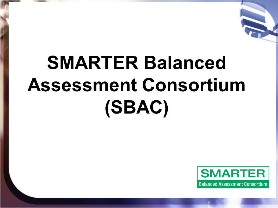 SMARTER Balanced Assessment Consortium (SBAC)