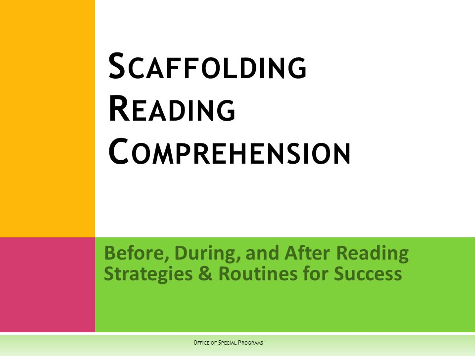 Comprehension is the process of simultaneously extracting and constructing meaning through interaction and involvement with written language.