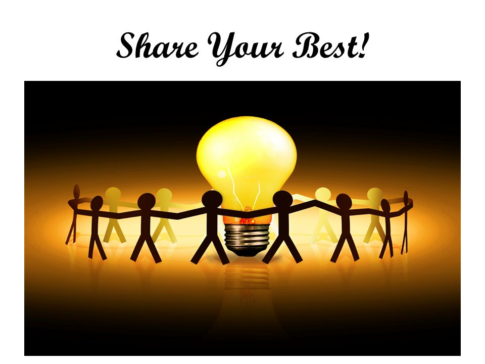 Share Your Best!