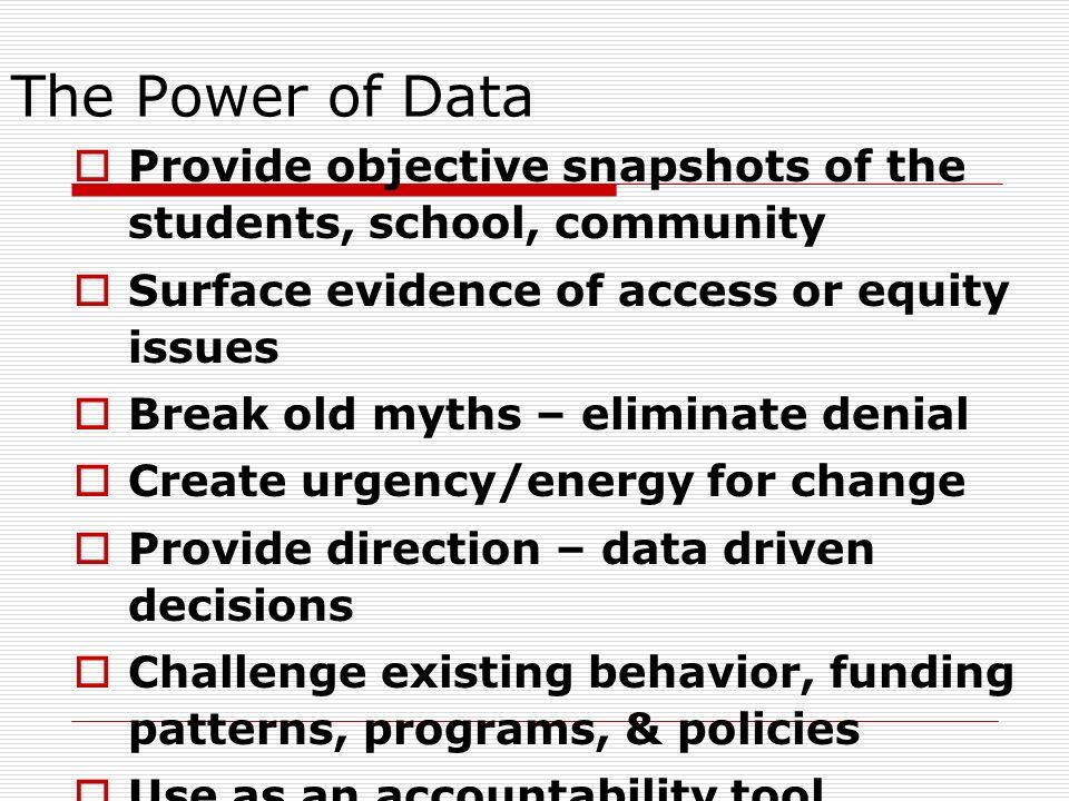 Basic Ways to Analyze Data Disaggregate