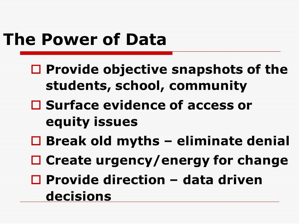 What Is Your Relationship with Education Data? Nonexistent? Reactive? Proactive?