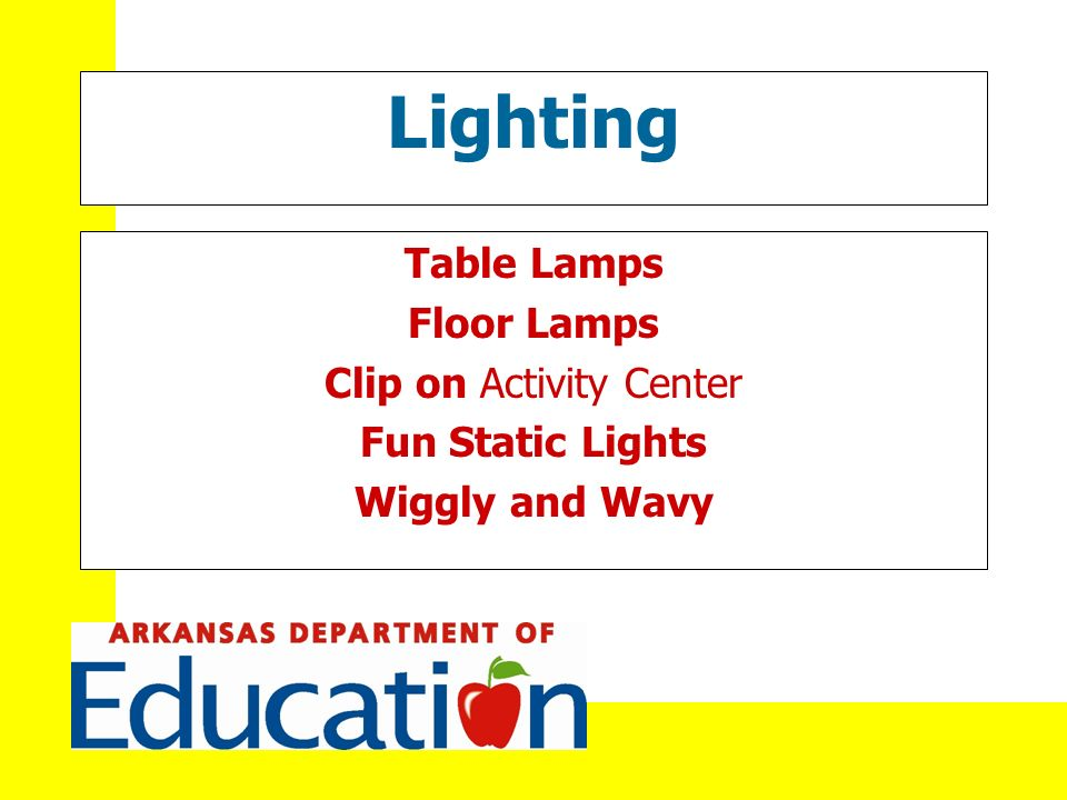 Lighting Table Lamps Floor Lamps Clip on Activity Center Fun Static Lights Wiggly and Wavy