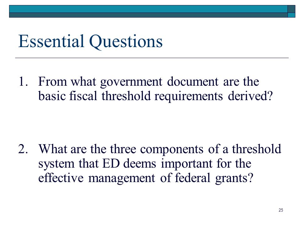 Essential Questions 1.