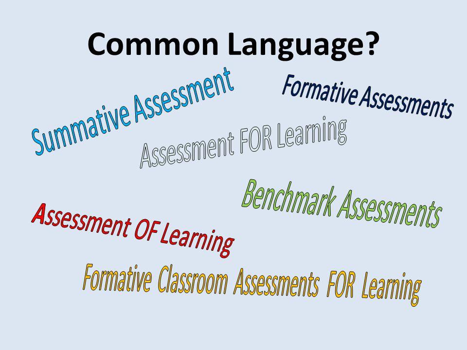 Common Language?