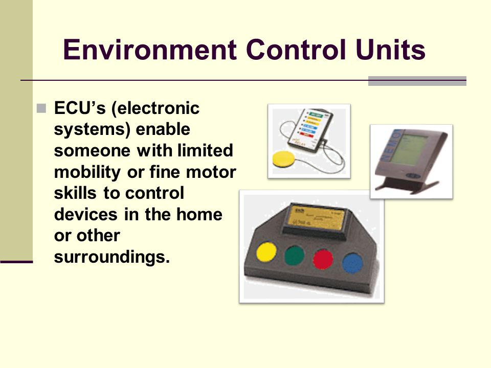 Augmentative Communication Augmentative Communication devices provide a means for communication for persons with limited speech.