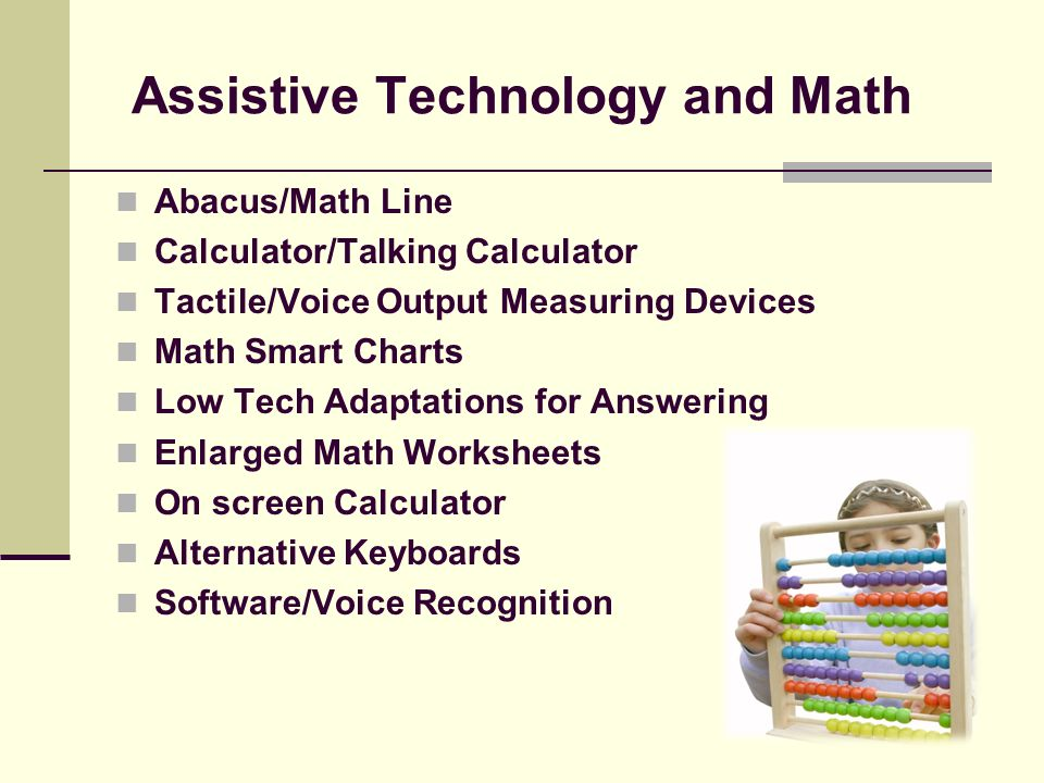 Assistive Technology and Reading How Assistive Technology is used to support students in developing literacy. Highlighting Important Words Text Reader