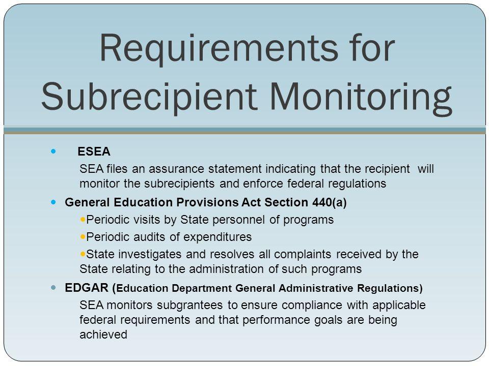 2011-2014 Online ESEA Monitoring System