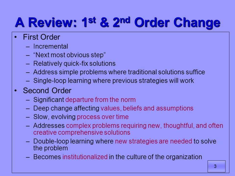 4 Another Perspective of Change: Lewins Freeze/Unfreeze/Refreeze Model of Change