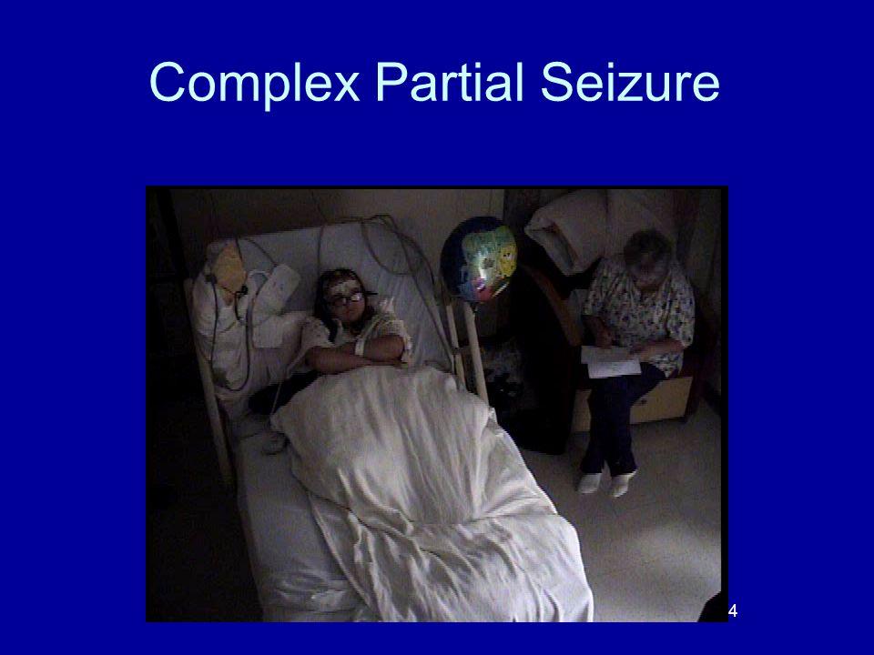 Complex Partial Seizure 34