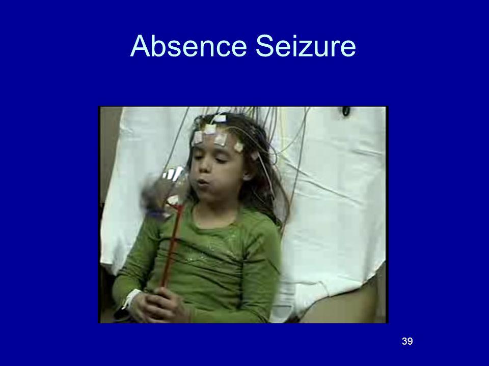 Absence Seizure 39