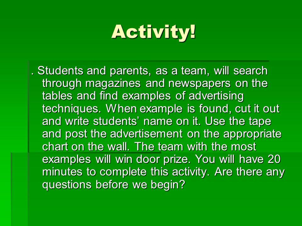 Activity!.