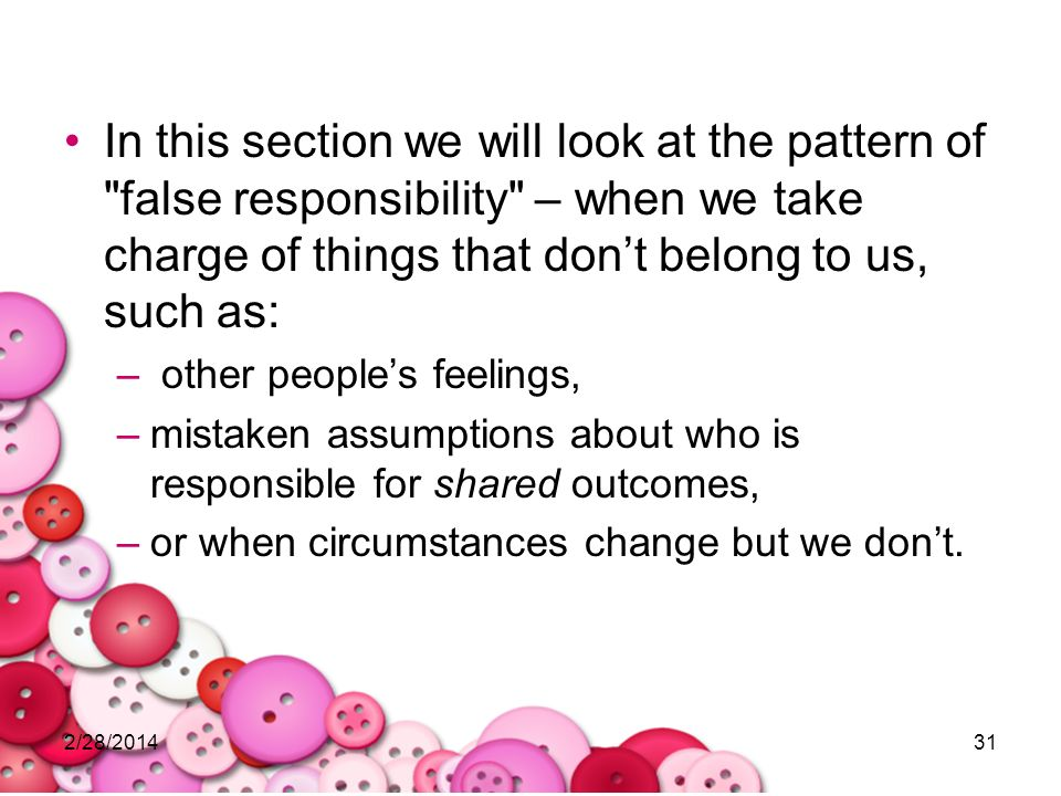 2/28/201431 In this section we will look at the pattern of