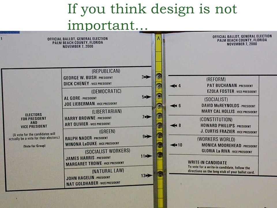 If you think design is not important…