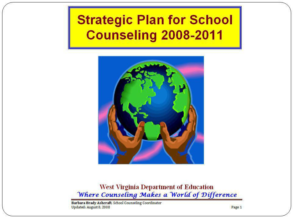 Group Critical AreaExpected Results Program QualityRole of School Counselors in Student Success and School Reform The Framework for School Counseling is developed and clearly delineates the comprehensive school counseling program.