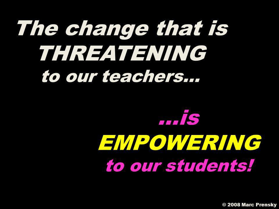 The change that is THREATENING to our teachers…