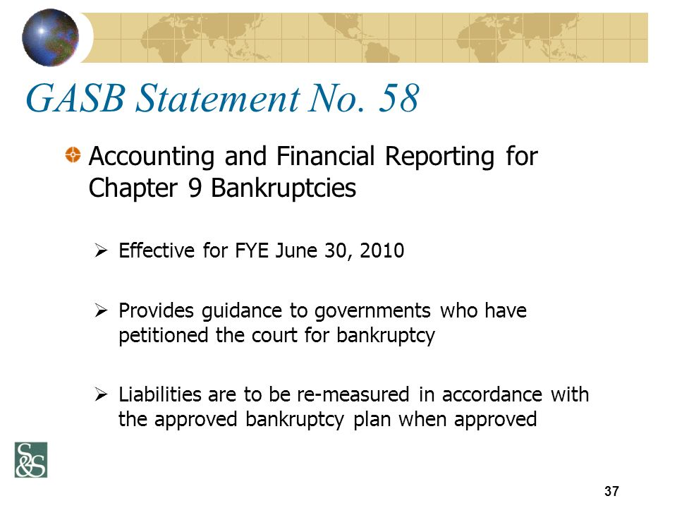 GASB Statement No.