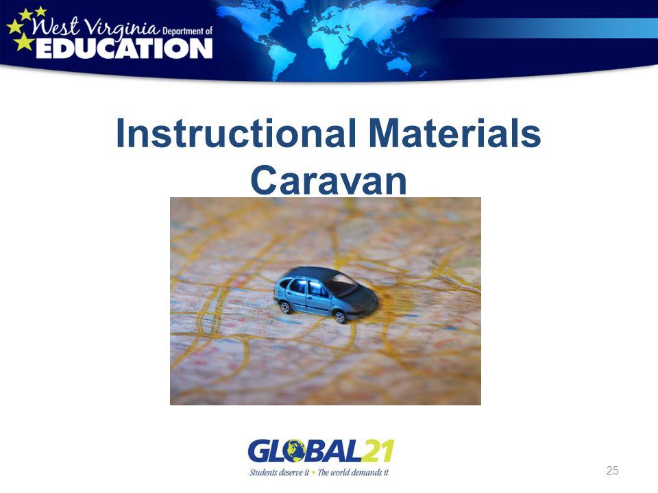 Instructional Materials Caravan 25