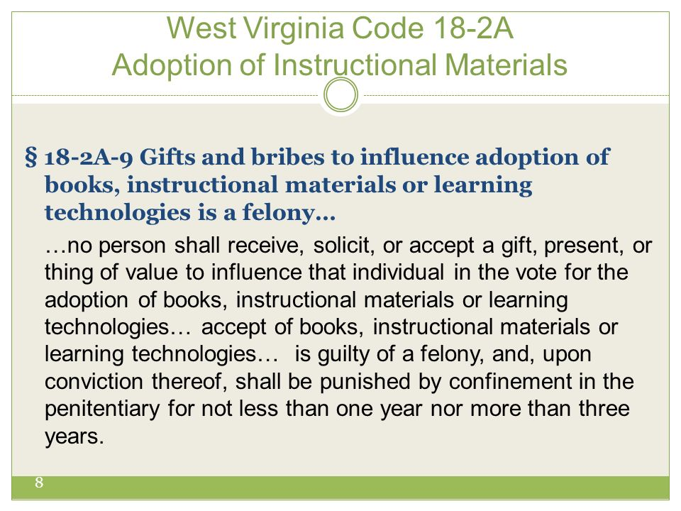 Acceptable Gifts WV Ethics Commission www.wvethicscommission.org 9