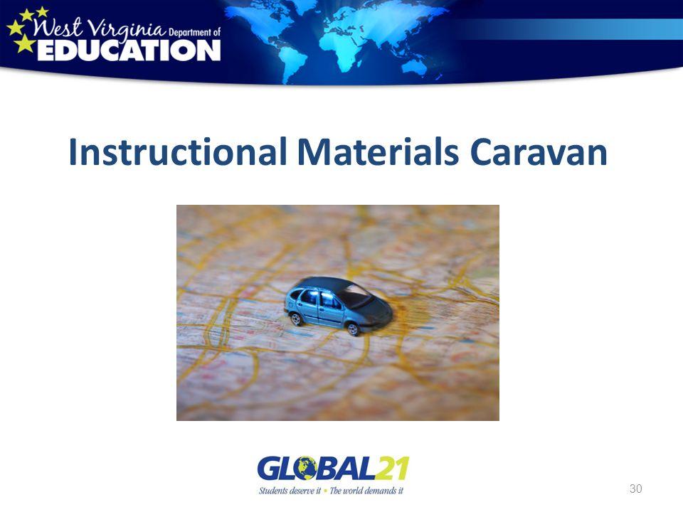 Instructional Materials Caravan 30