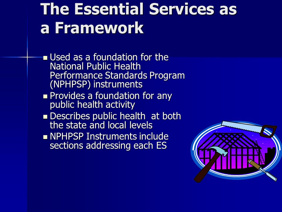 Doing Essential Service # 3 We promote program partnerships with schools, faith communities, work sites, personal care providers, and others to implement and reinforce health promotion programs and messages.