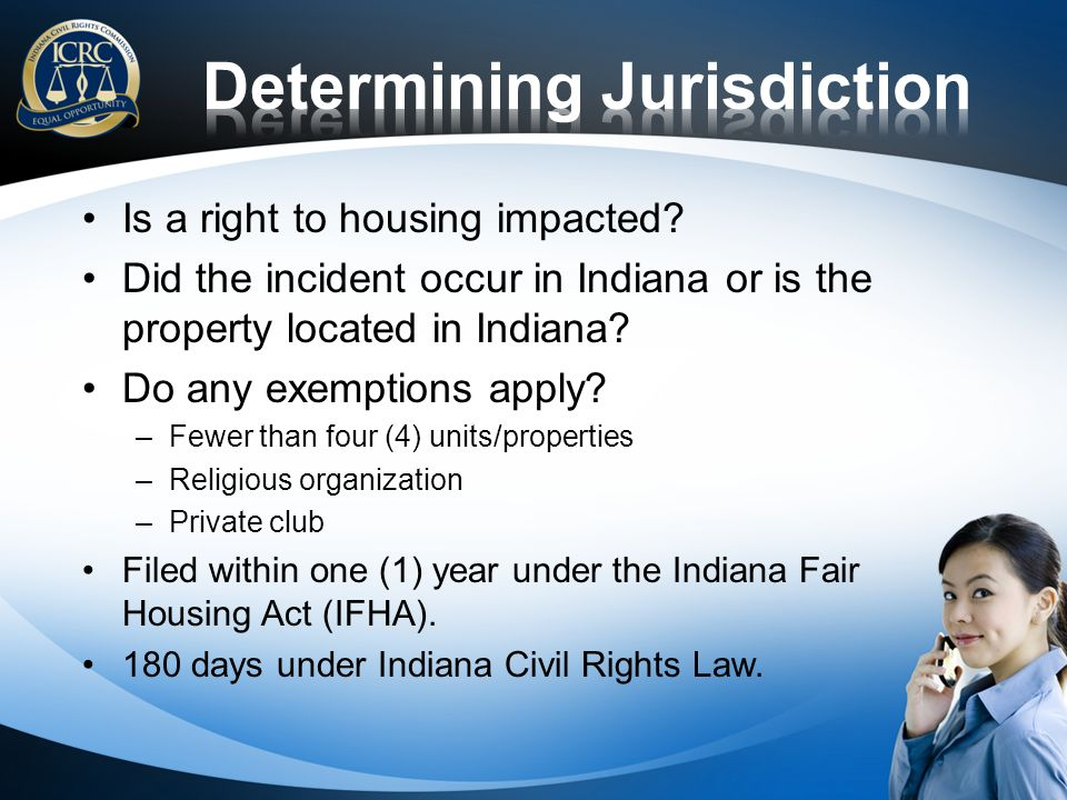Is a right to housing impacted.