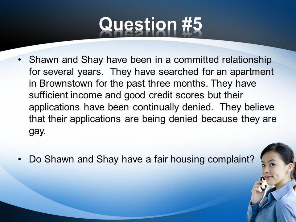 Shawn and Shay have been in a committed relationship for several years.