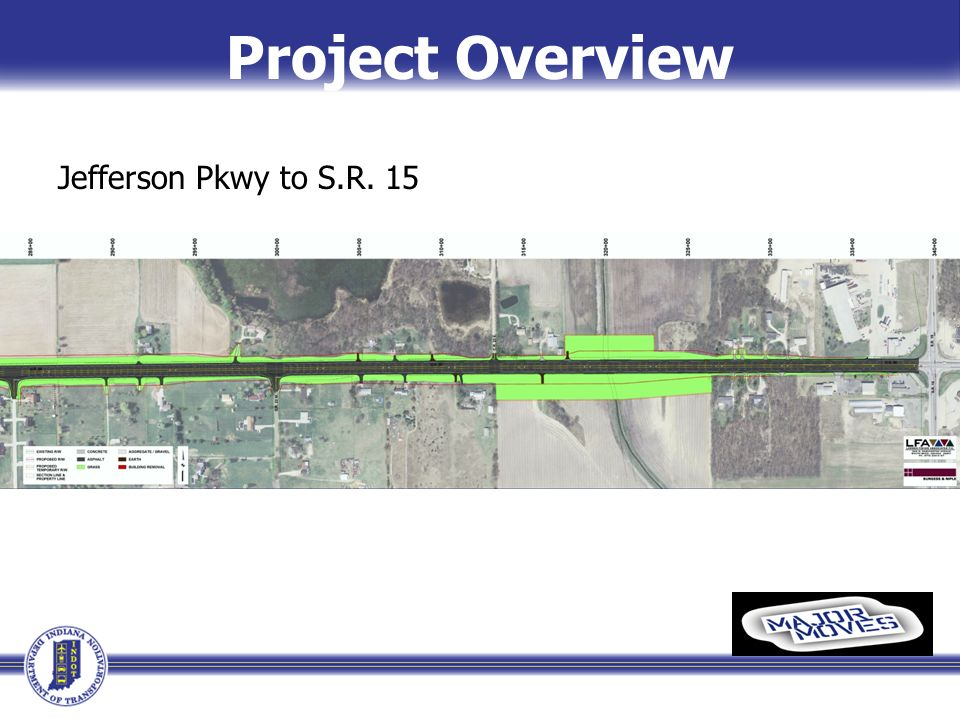 Project Overview Jefferson Pkwy to S.R. 15