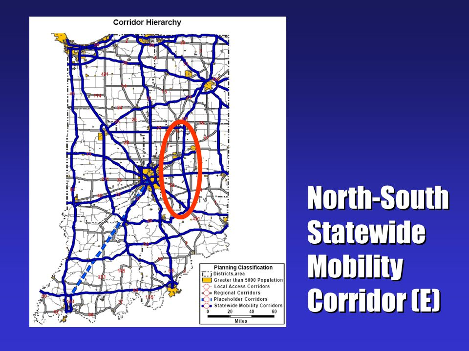 North-South Statewide Mobility Corridor (E)