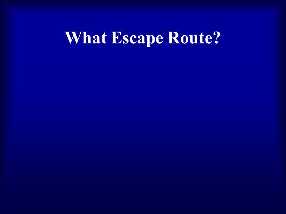 What Escape Route