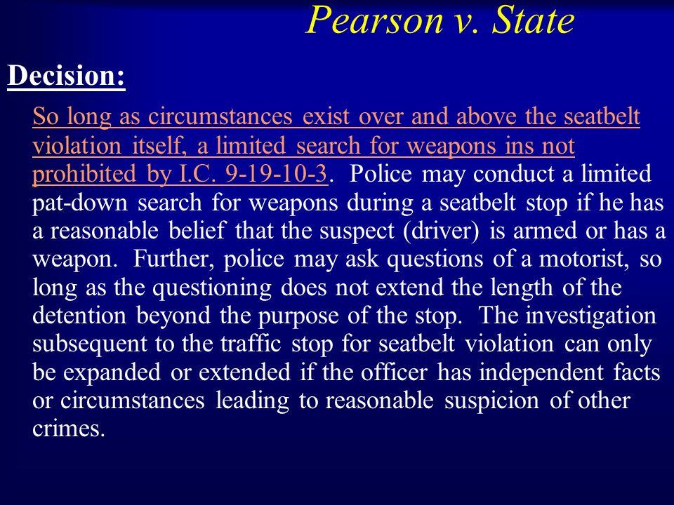 Pearson v.