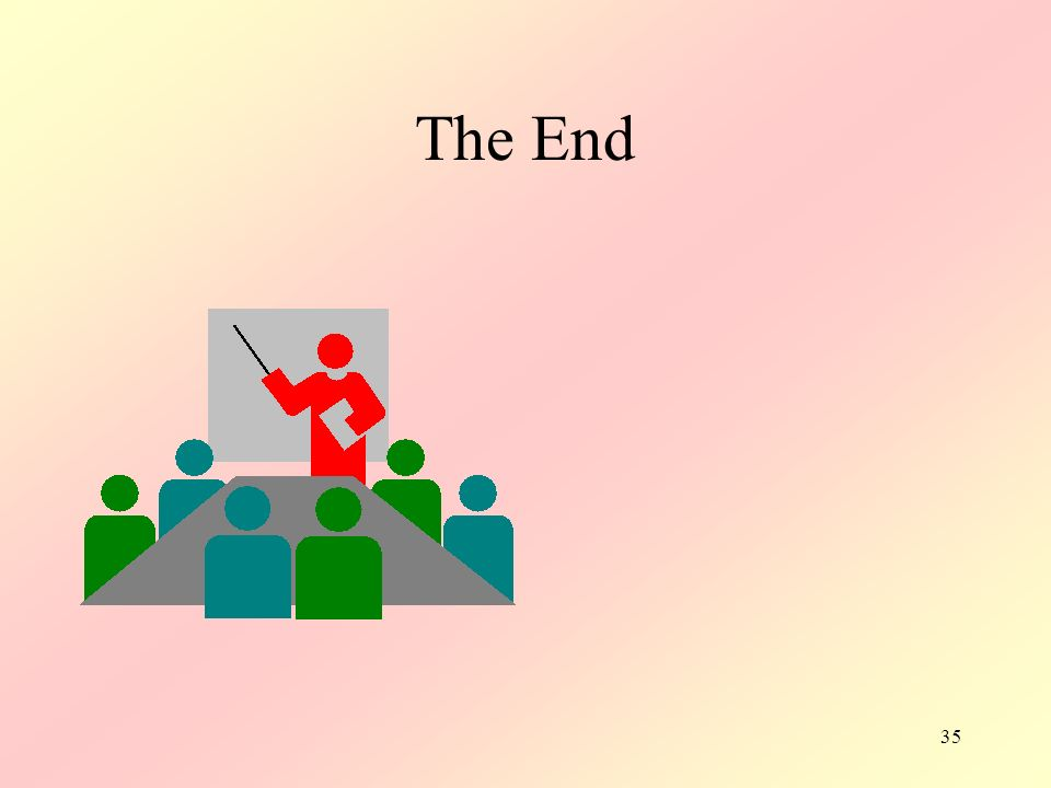 35 The End