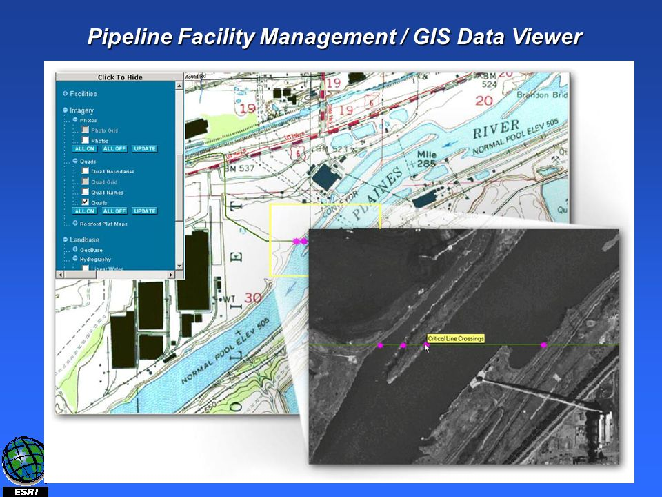 Pipeline Facility Management / GIS Data Viewer