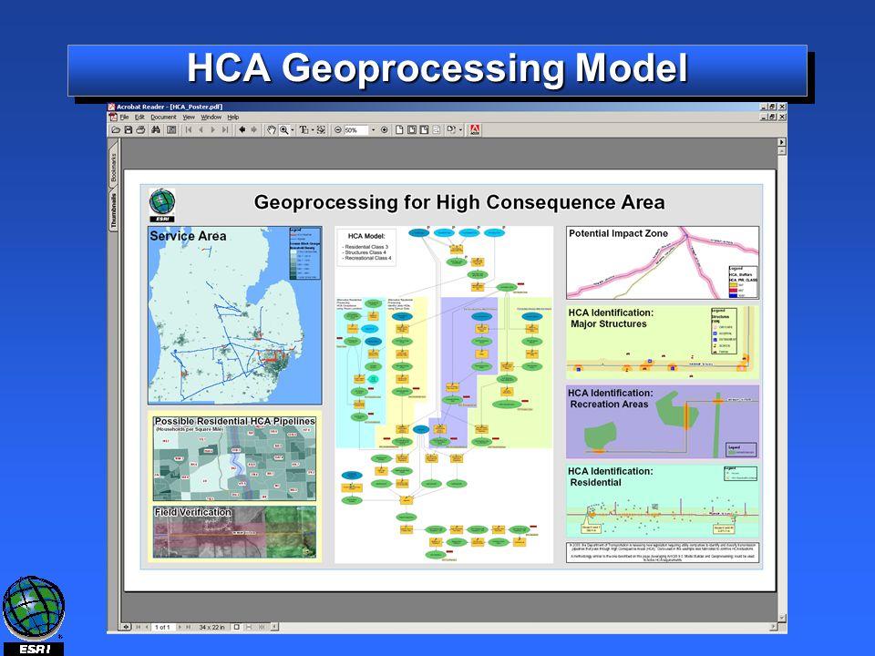 HCA Geoprocessing Model