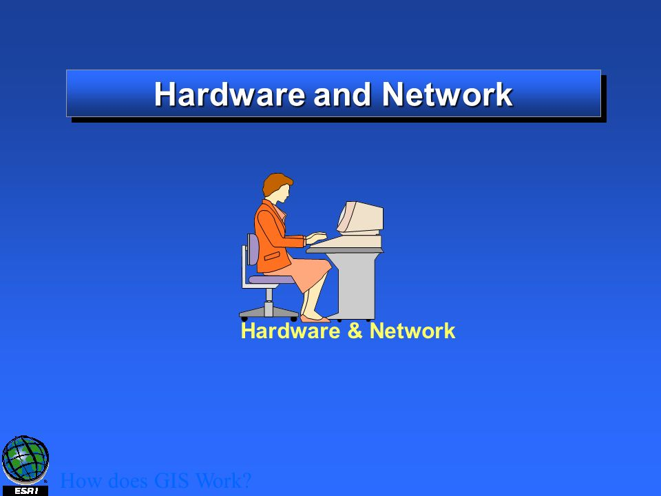 Hardware and Network How does GIS Work? Hardware & Network