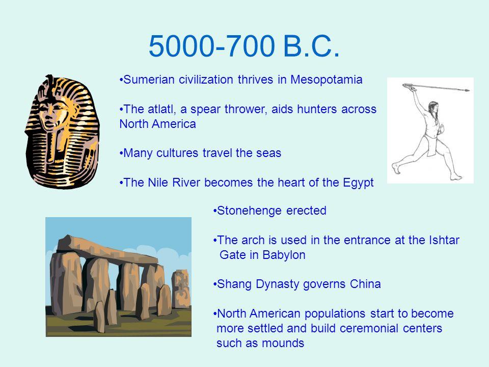 700-200 B.C.
