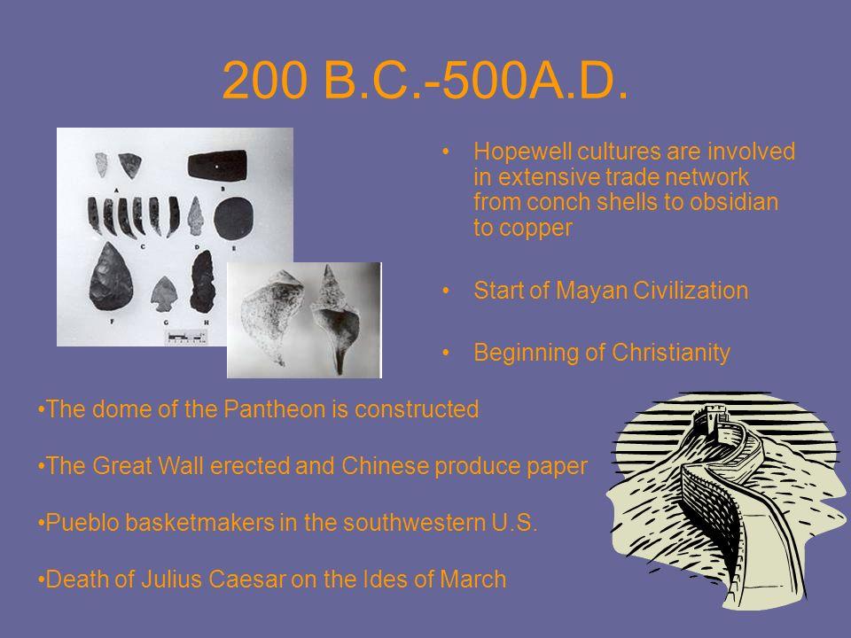 500-1200 A.D.