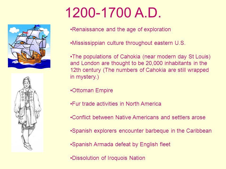 1700-1816 A.D.