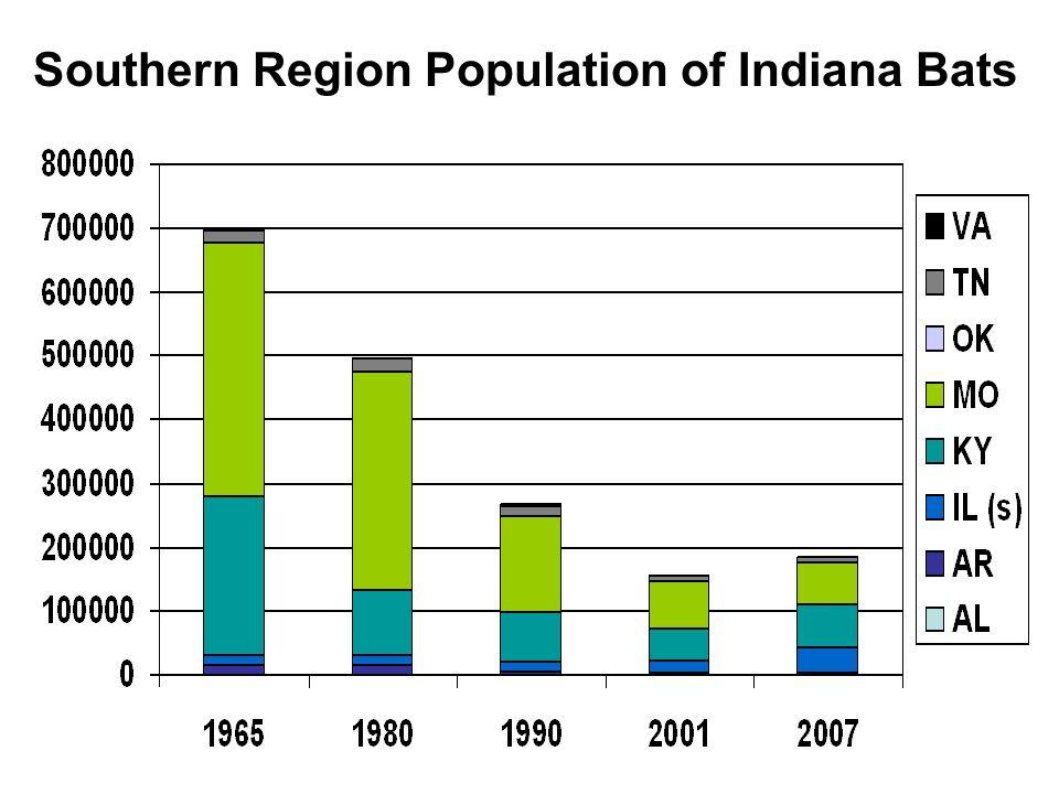Southern Region Population of Indiana Bats