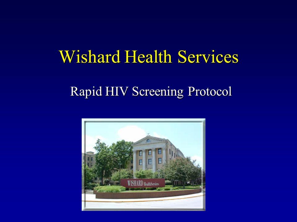Wishard Health Services Rapid HIV Screening Protocol