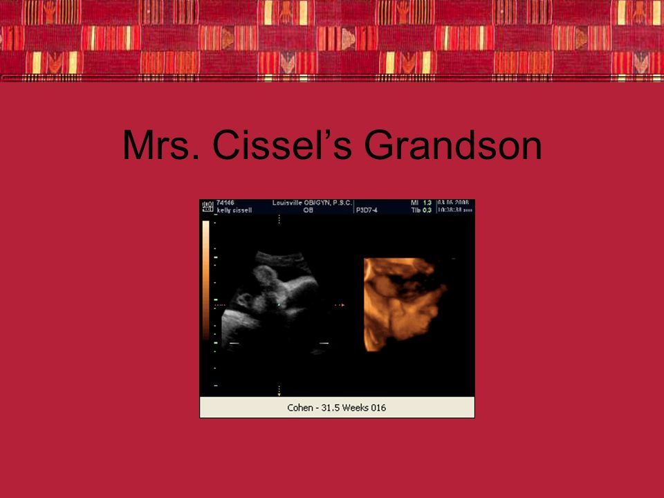 Mrs. Cissels Grandson