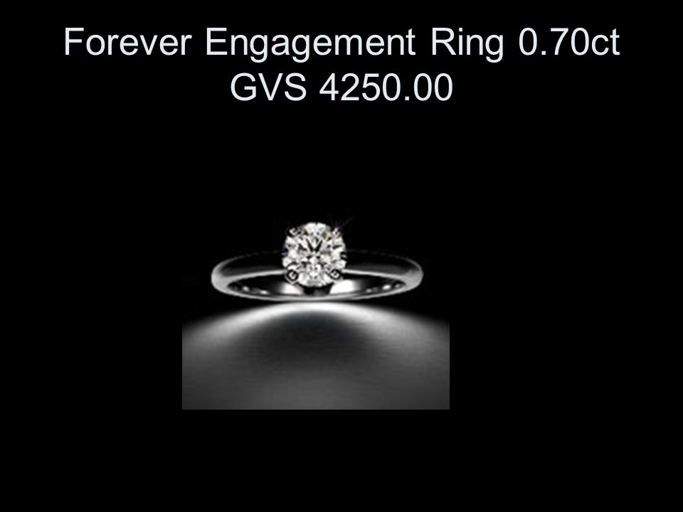 Forever Engagement Ring 0.70ct GVS 4250.00