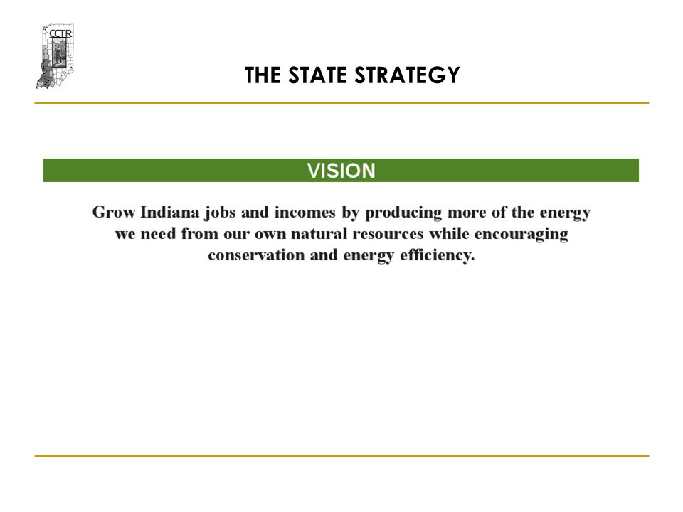 THE STATE STRATEGY