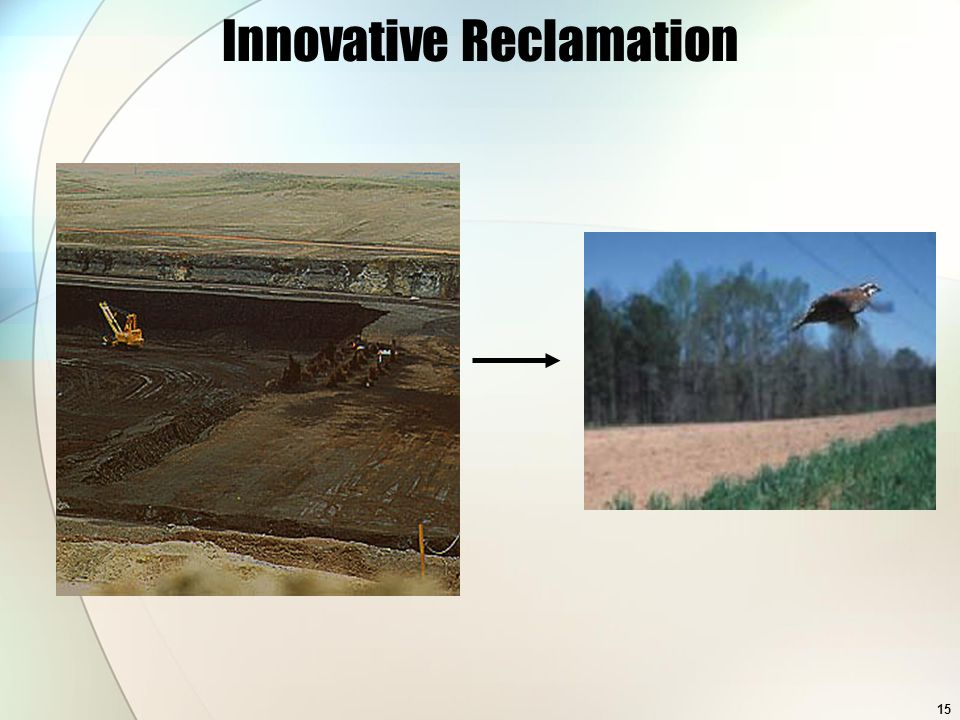15 Innovative Reclamation