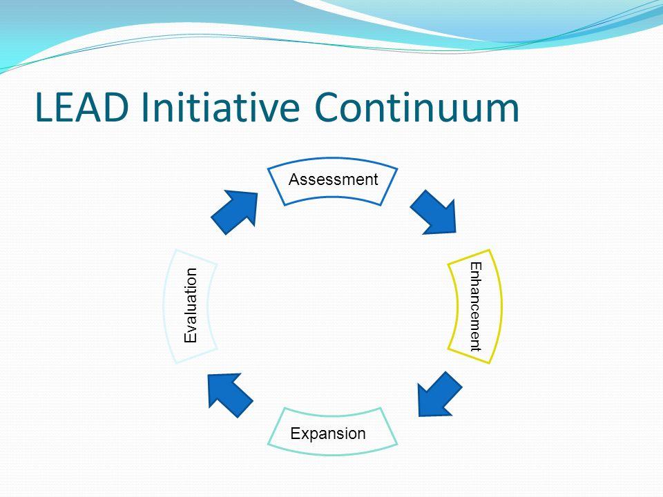 LEAD Initiative Continuum Expansion Assessment Enhancement Evaluation